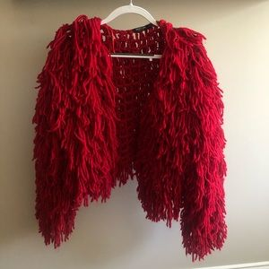 Red Nastygal sweater
